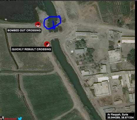 Инженерные войска ИГИЛ восстанавливают инфраструктуру после авиа налетов