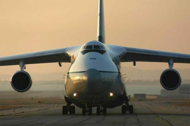 За 2 недели в Сирии приземлилось 25 российских самолётов АН-124