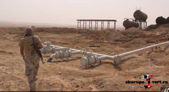 Подтвержден контроль ИГИЛ над крупным месторождением нефти возле города Пальмира, Сирия - Джазель