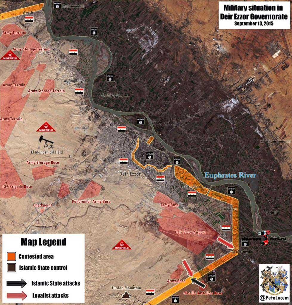 Асадисты контратаковали в Дейр Азор