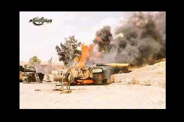 Провал наступления Асадистов в пригороде Дамаска
