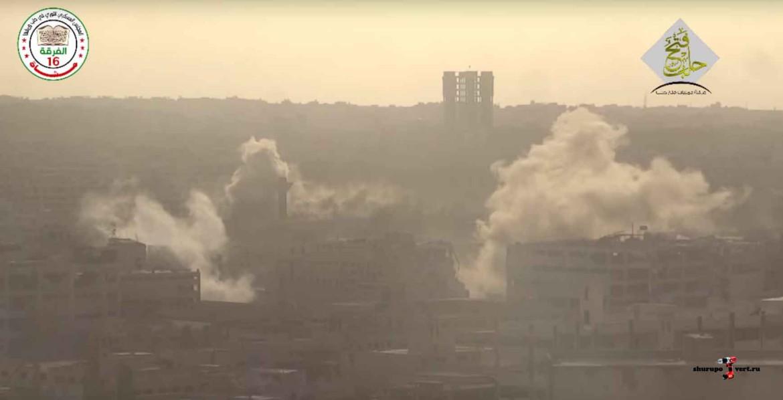 Асадисты бомбят Забадани и Восточную Гуту, повстанцы обстреливают Алеппо