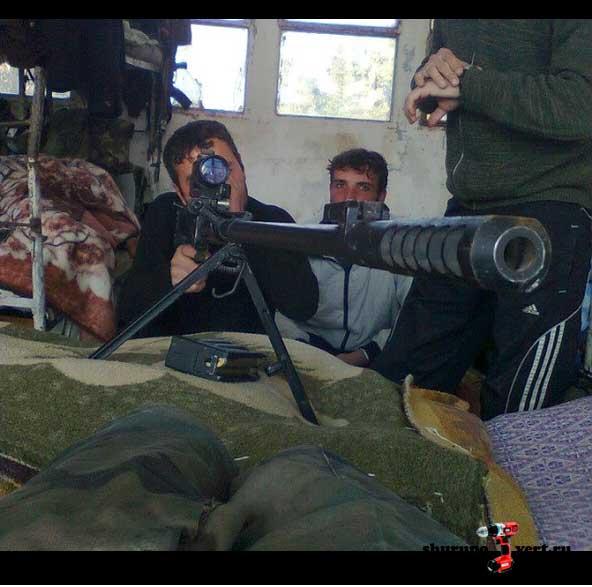 OSV-96 Взломщик в Сирии