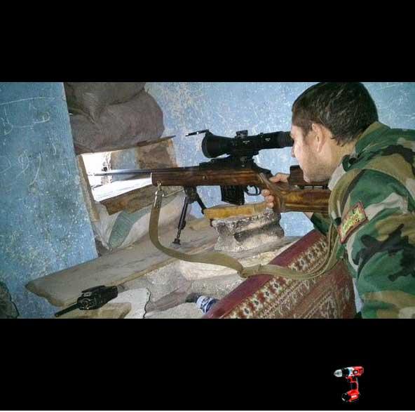 Прицелы из России для Асада в Сирии