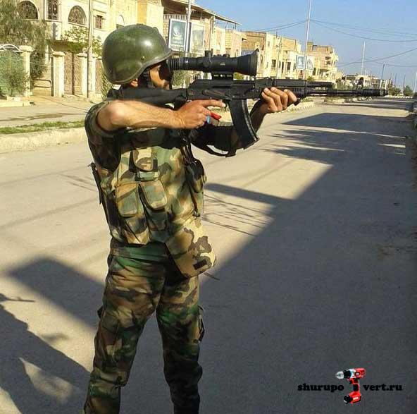 AK-74M в Сирии