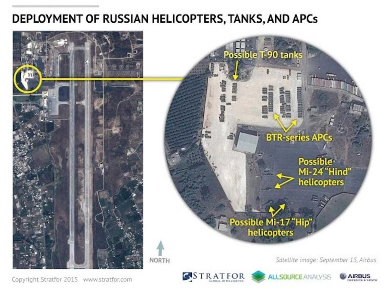 Россия осваивает базу Асада в Сирии: Bassel al Assad военновоздушная база в Латакии, Сирия