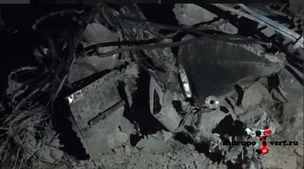 Боевиками ИГИЛ сбит военный самолёт Асада в районе месторождения нефти Джазель, провинция Хомс, Сирия