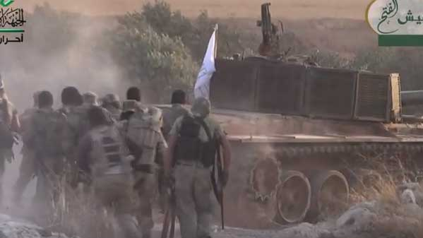 Ожидаемое свершилось: Мощный штурм позиций Асада в анклаве Фоа и Куфрая