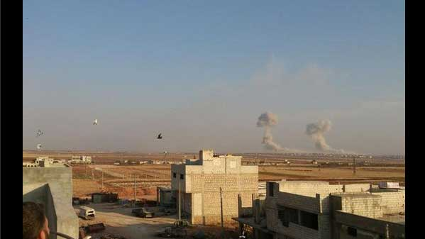 Атака автомобилей со смертниками на анклав