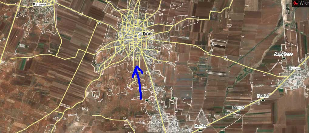 Оппозиция прорвалась в районе Аль-Фуа, захвачено 13 опорных пунктов