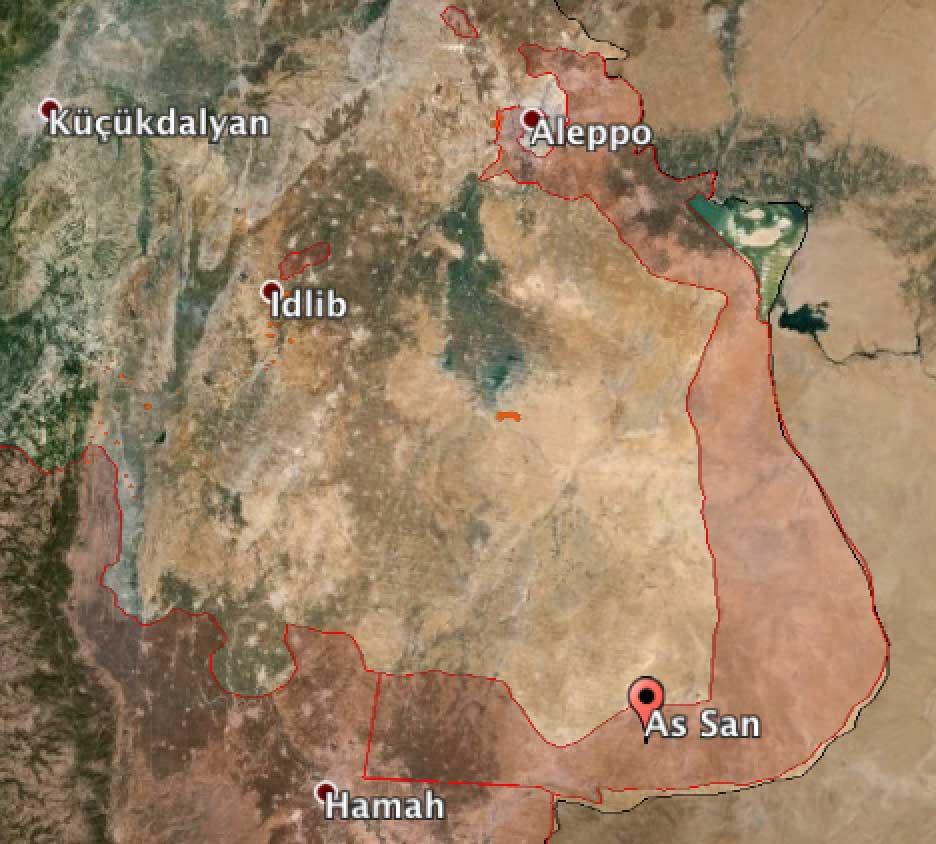 Оппозиция нанесла еще один удар по трассе Дамаск - Хомс, по которому происходит снабжение Алеппо