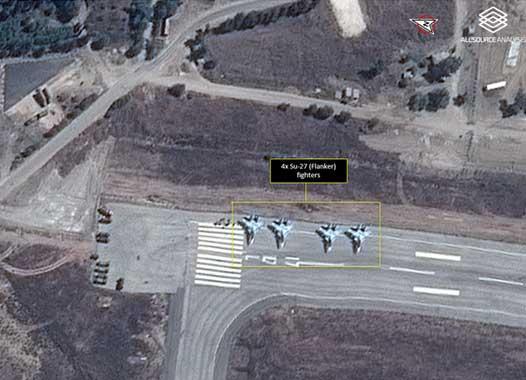 Российская боевая авиация в Латакии, Сирия