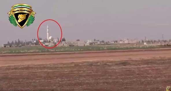 Атака смертника сирийской оппозиции позиций ИГИЛ в Северном Алеппо, Сирия
