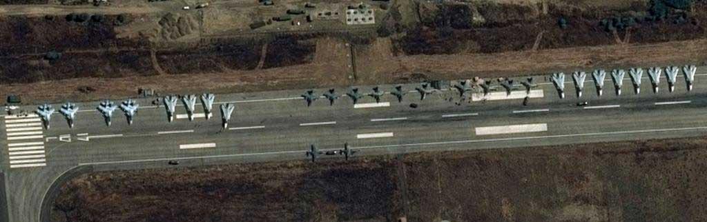 Новые изображение российской авиации в Латакия, Сирия