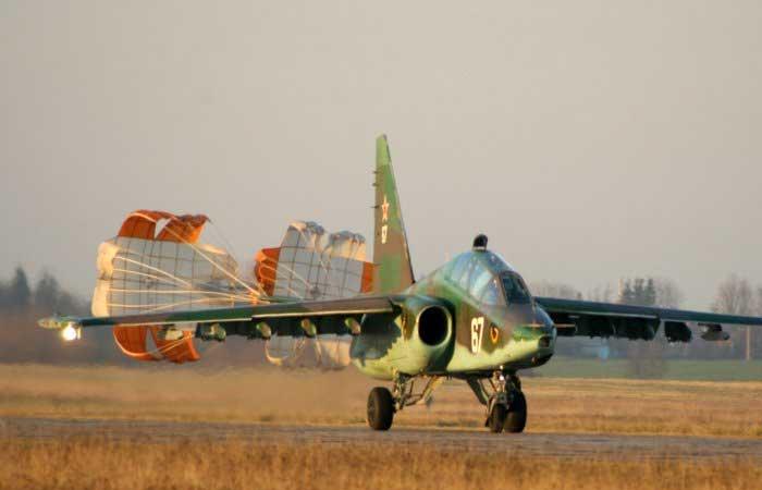 12 единиц штурмовиков СУ-25 для Сирии