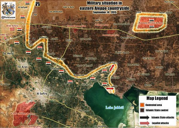 Ближайшая цель сирийских войск при поддержке России: деблокировать авиабазу Кувейрис