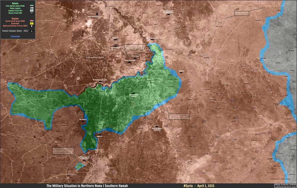 Российская авиация бомбила позиции сирийских повстанцев всю ночь