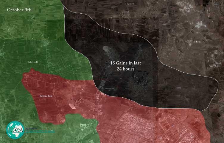 ИГИЛ захватил новые территории в Сирии