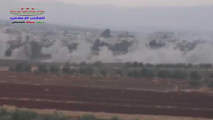 Грады РФ поддерживают армию Асада против оппозиции