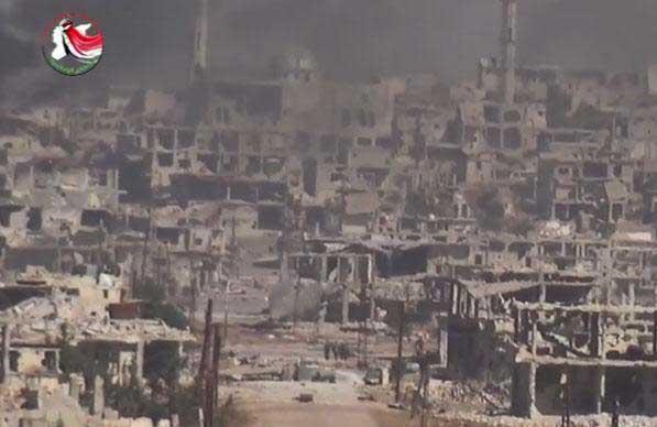 Разгром сил Асада в районе населенного пункта Kafranbouda(Kafr Nabuda), Северная Хама, Сирия