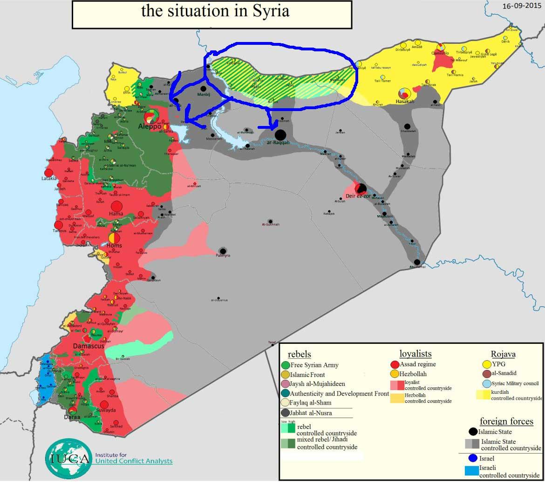Новая оппозиционная группа готовится к наступлению против ИГ с курдских территорий