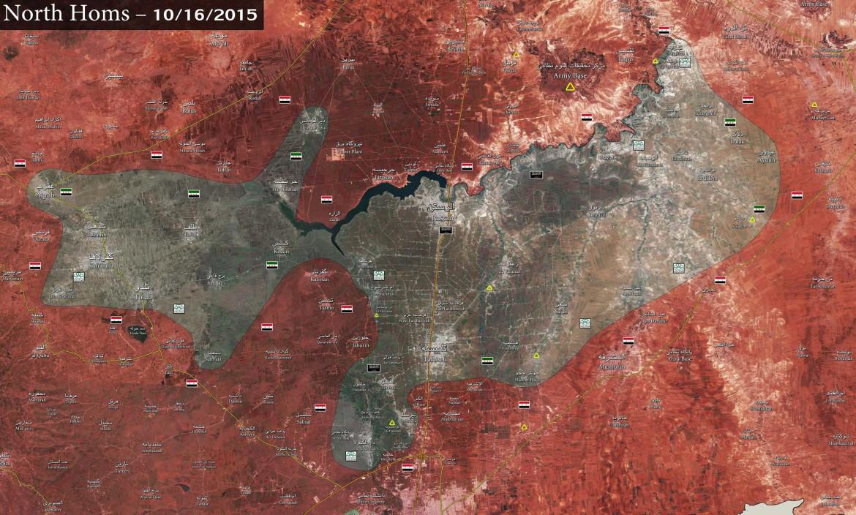 Северный Хомс, в окружении сил Асада, Хеболлы и Иранских войск