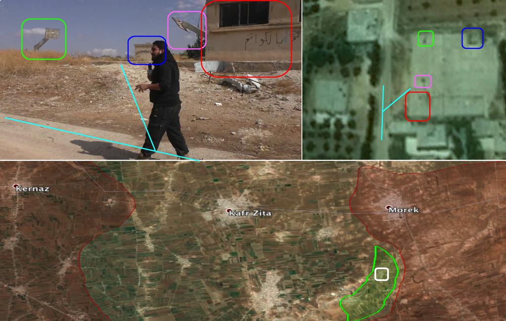 Повстанцы вновь захватили поселение Lahaya в провинции Hama, городе Morek окружен с трех сторон