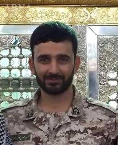 Полковник Иранской КСИР в Сирии - Muslim Khezab, погиб защищая Асада