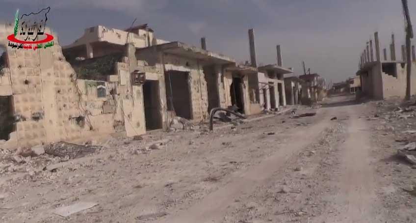 Высокая эффективность авиа ударов Российской войск в Сирии на примере городка Kafranbouda(Kafr Nabuda), Северная Хама, Сирия