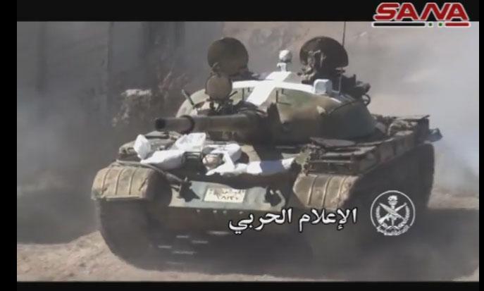 Новелла сирийской войны: помеченные танки Асада
