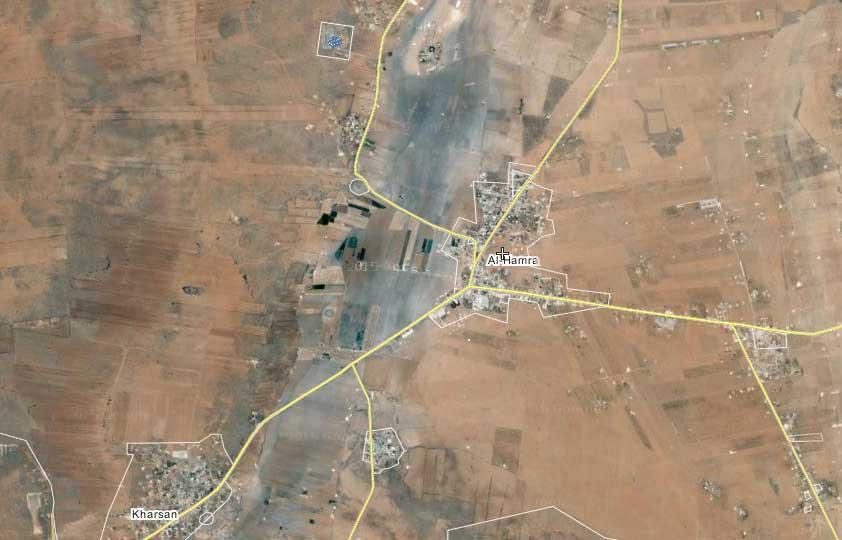 оппозиция захватила небольшой городок - Al-Hamra