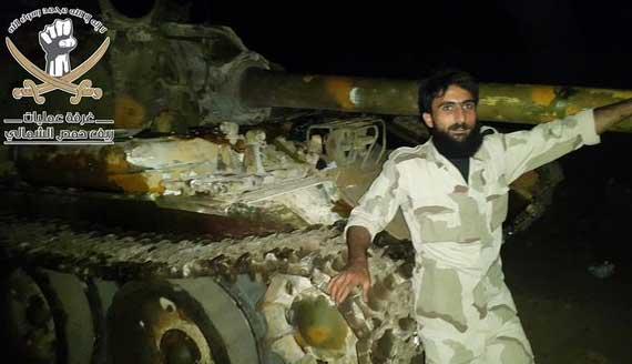 Трофеи оппозиции в результате наступления в Северном Хомсе, Сирия
