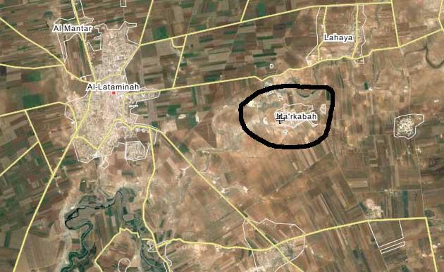 Силы Асада теряют еще один населенный пункт в Хаме - Ma'rkabah
