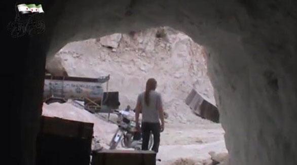 Сирийская оппозиция уходит в пещеры