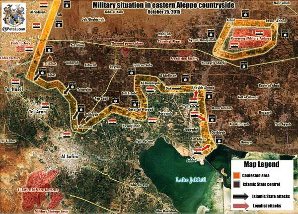 Пока коалиция воюет с сирийской оппозицией ИГИЛ вновь наступает в провинции Алеппо