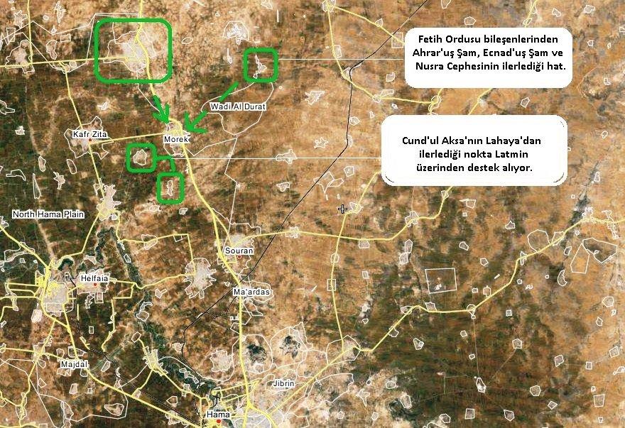 Сирийская оппозиция наступает: захвачено поселение Sukayk, в провинции Хама, Сирия