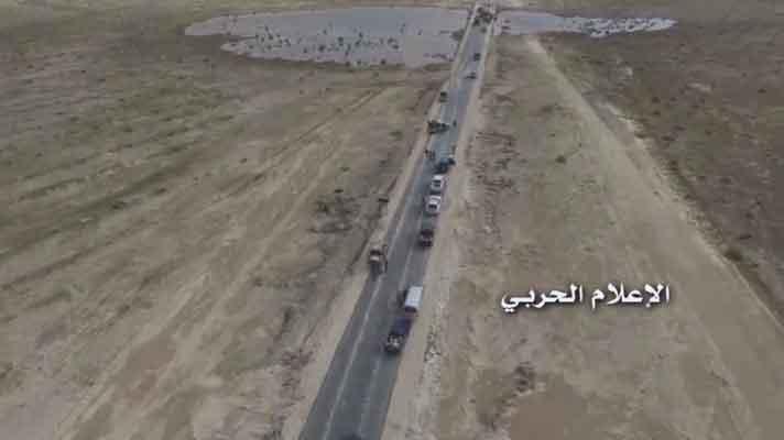 Асадисты 2 недели спустя смогли разблокировать трассу Дамаск-Хомс