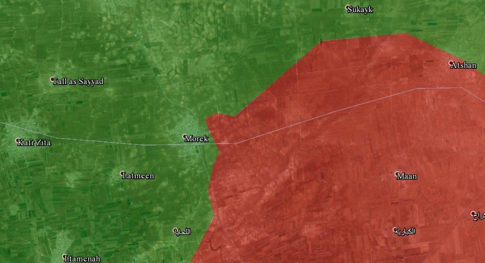 Армия Асада теряет город Морек, провинция Хама, несмотря на поддержку России и Ирана
