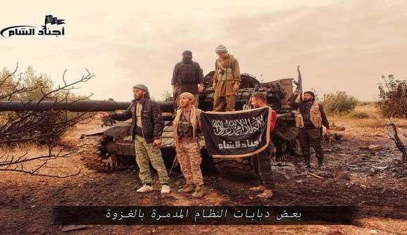 Асад продолжает терять позиции в провинции Хама, Сирия