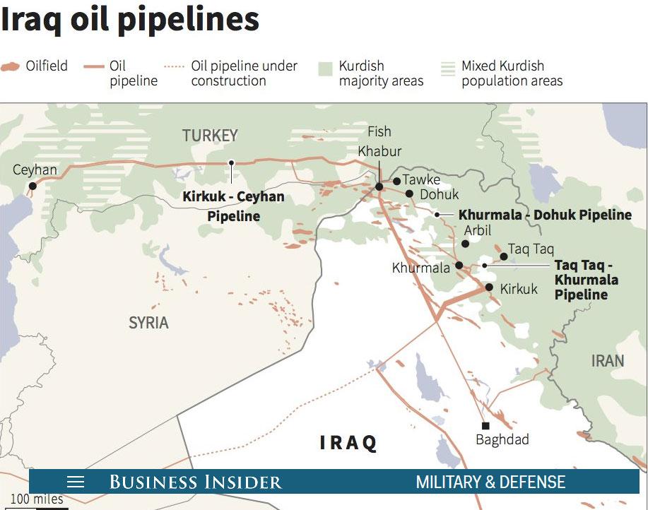 Курдская нефть Ирака или очаг для новой войны