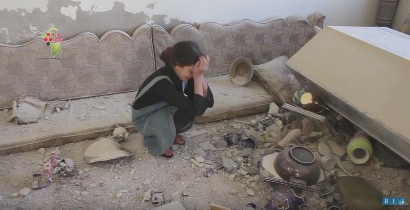 Насилие захлестнула Сирию, день массового авиа и ракетного удара по сирийским повстанцам: фото