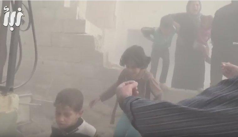 Авиа удар Дараа, Сирия, территория повстанцев