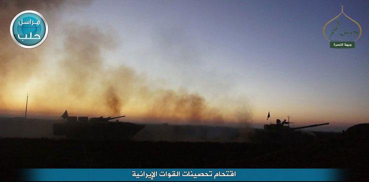 Контрнаступление сирийской оппозиции в Алеппо, фото вчерашнего дня
