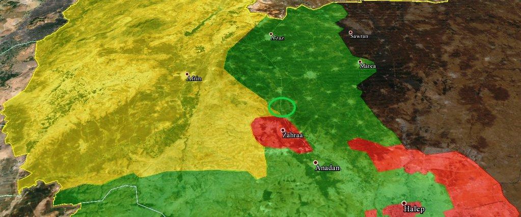 Поступает информация об атаке курдской YPG позиций сирийской оппозиции