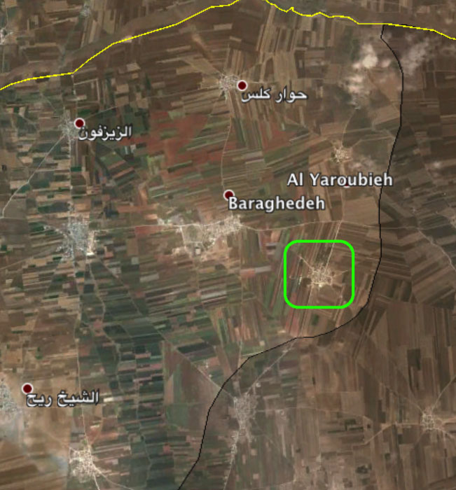 Захвачен Yarn, Южный Алеппо