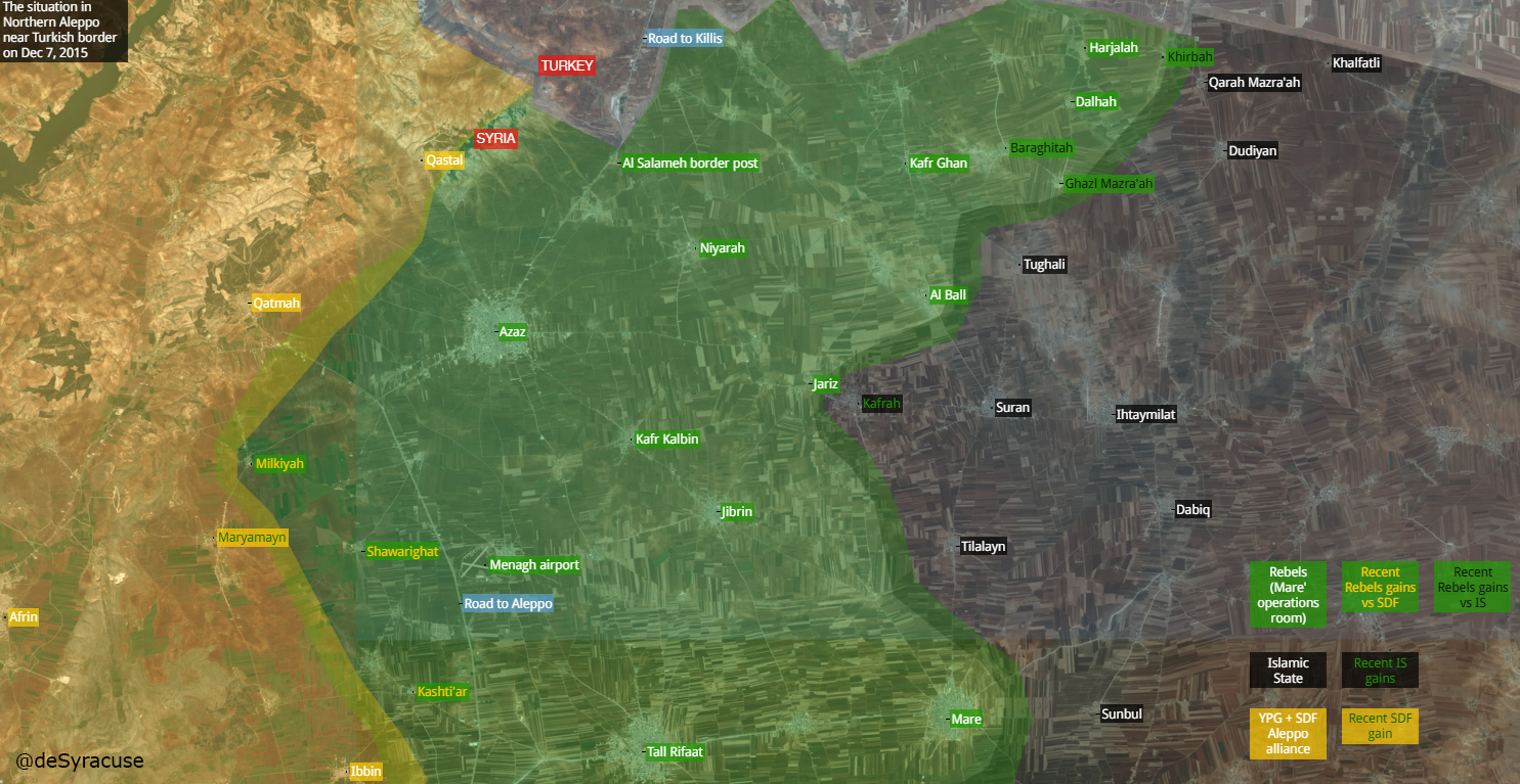 ИГИЛ отбило село Далах, в Алеппо