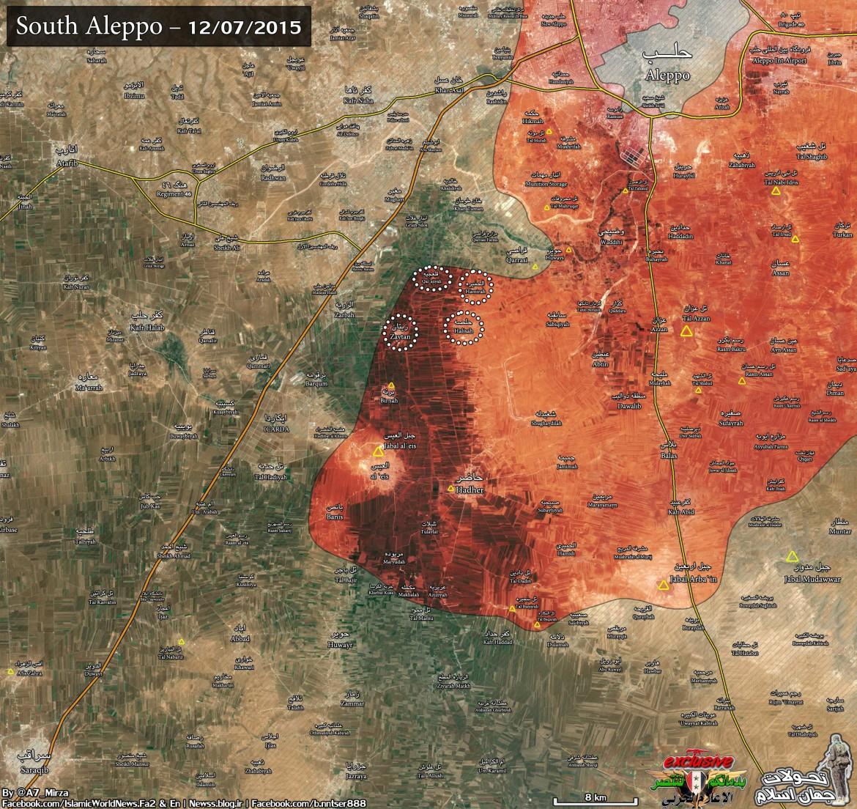 Успехи шиитских боевиков Асада в Алеппо