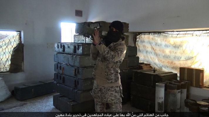 По городу Махин не понятно, возможно ИГИЛ его захватила вновь...