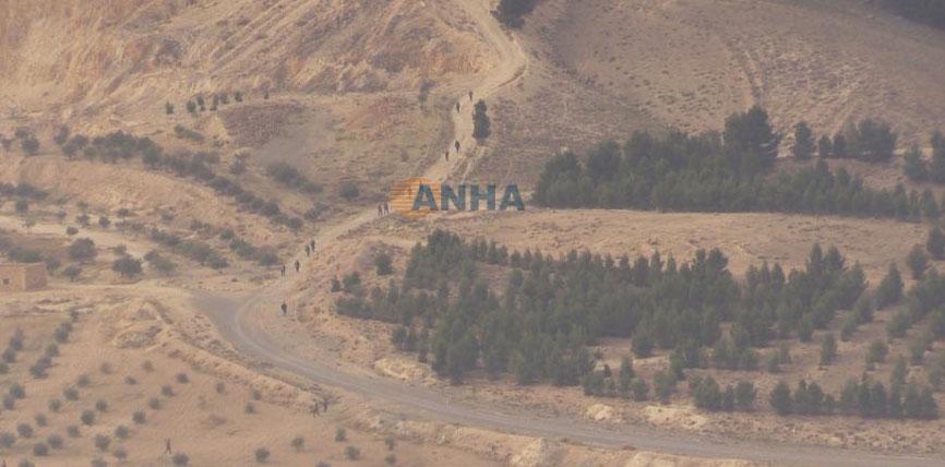 SDF (курды, ассирийцы, частично ССА) при поддержке США, на подступах к плотине Тишрин, Сирия