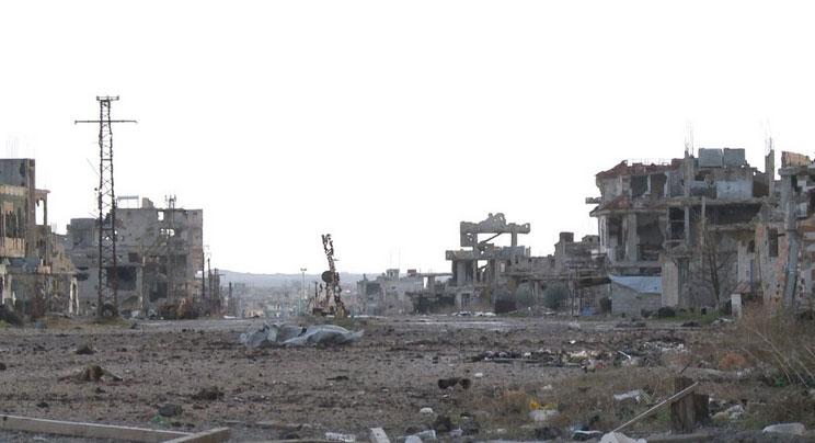 Большая часть города Sheikh Maskin, в провинции Дараа, захвачен шиитскими боевиками и армией Асада